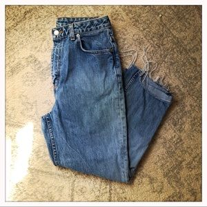 Vintage banana republic mom jeans